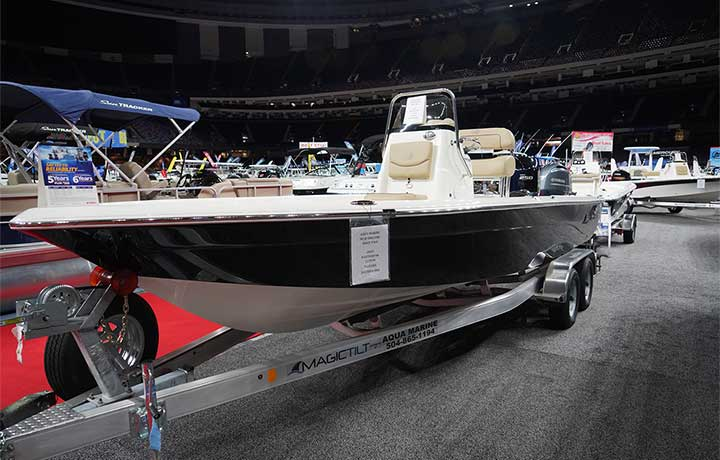 227 XTS coastal or freshwater fishing