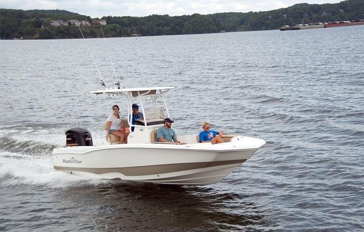 231 hybrid boat