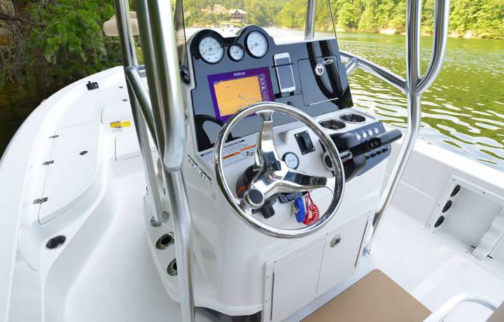 NauticStar Boats 227 XTS Helm