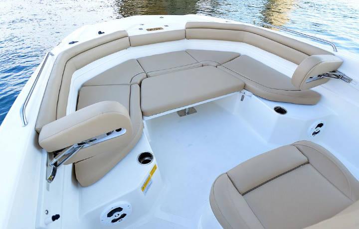 NauticStar Boats 231 Hybrid front