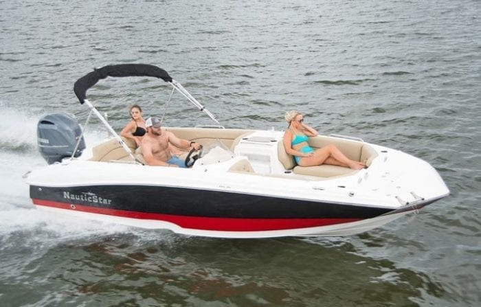 203 SC deck style boat
