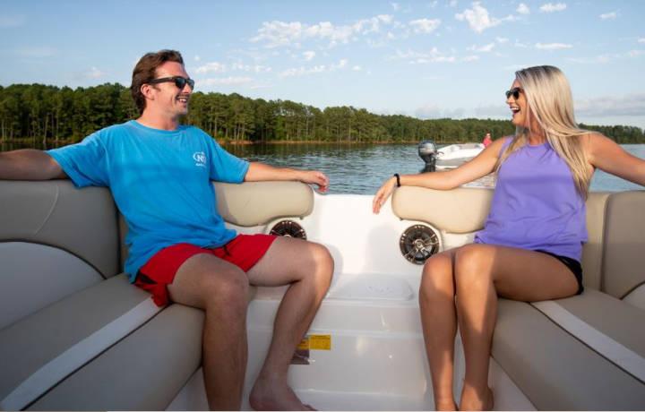 223 DC Sports Boat Seats