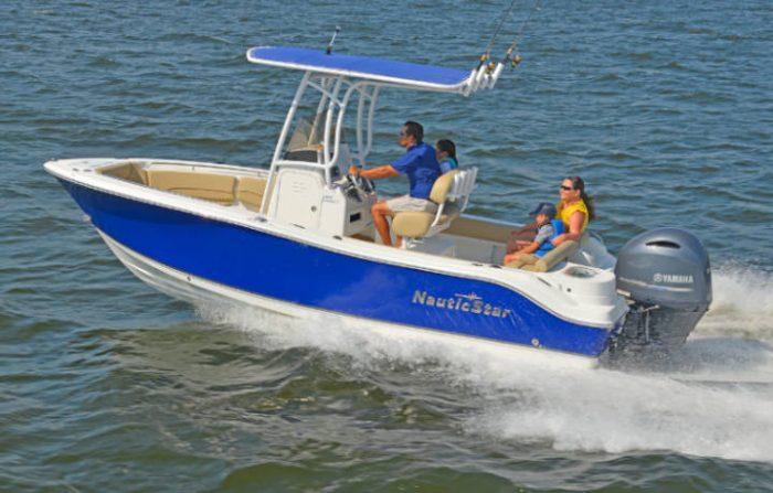 NauticStar Boats 2102 Legacy On Water