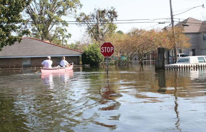 Using Boats in Flooded areas
