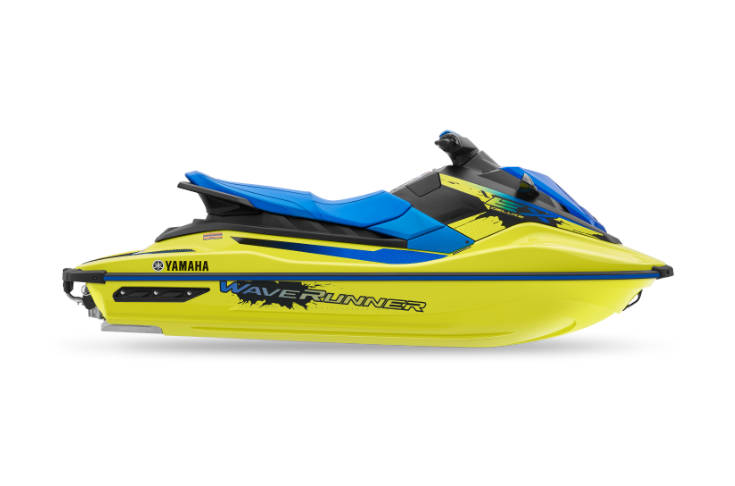 2021 EX Deluxe Blue and Yellow Waverunner