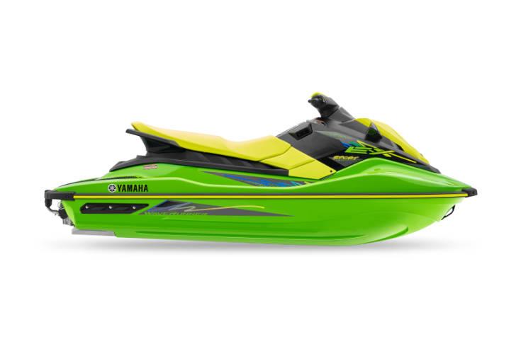 2021 EX Green and Yellow Waverunner