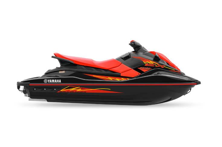 2021 EX Sport Red and Black Waverunner
