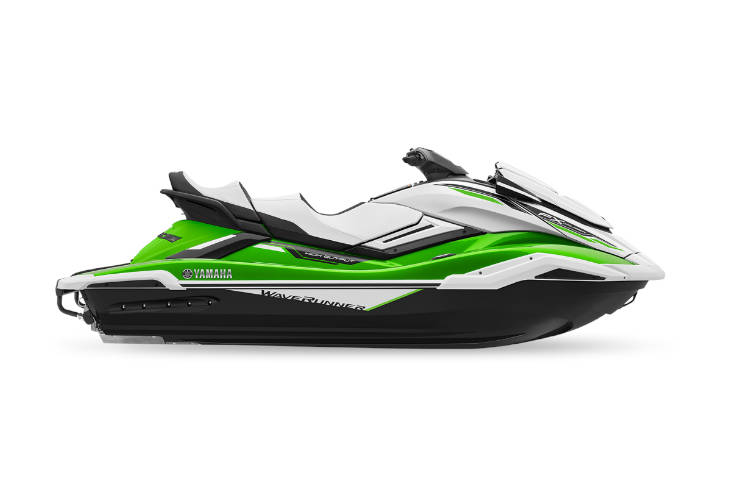 2021 Yamaha FX Cruiser HO Green Waverunner