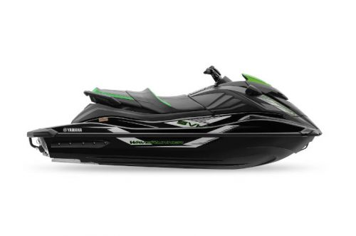 2021 Yamaha GP1800 R SVHO Black and Green Waverunner