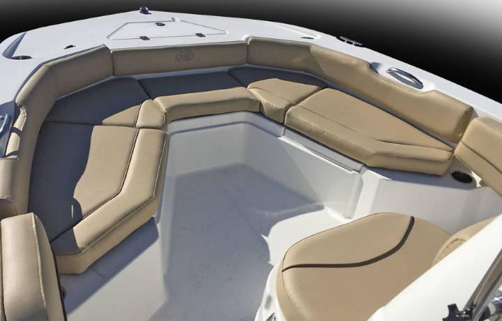 NauticStar Boats 191 Hybrid bow