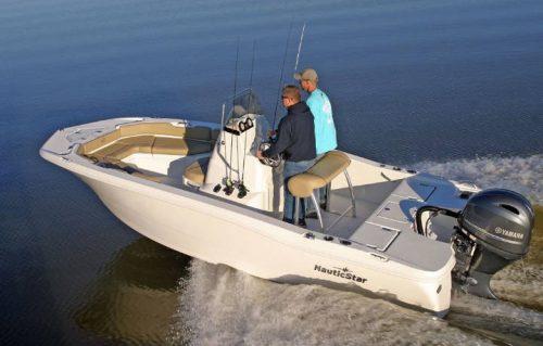 NauticStar Boats 191 Hybrid water